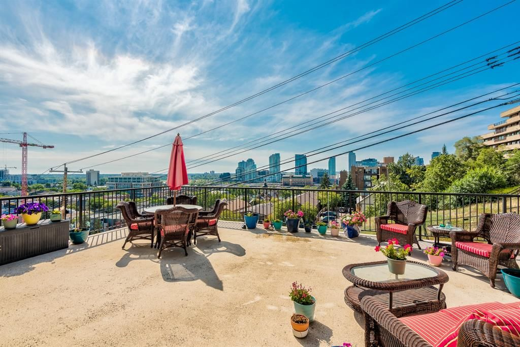 Enjoy the beautiful views on your own South facing deck