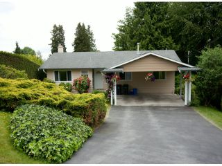 Photo 1: 9769 PRINCESS Drive in Surrey: Royal Heights House for sale (North Surrey)  : MLS®# F1312416