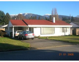 """Photo 1: 1338 SOWDEN Street in North_Vancouver: Norgate House for sale in """"NORGATE"""" (North Vancouver)  : MLS®# V688639"""