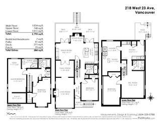 Photo 37: 218 W 23RD AVENUE in Vancouver: Cambie House for sale (Vancouver West)  : MLS®# R2566268