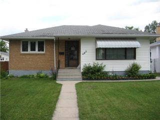 Photo 1: 485 Oakview Avenue in WINNIPEG: East Kildonan Residential for sale (North East Winnipeg)  : MLS®# 1014022