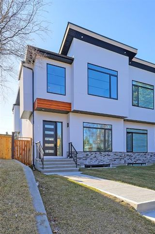 Main Photo: 1433 44 Street SW in Calgary: Rosscarrock Semi Detached for sale : MLS®# A1092744