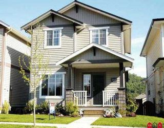 """Photo 1: 36272 STEPHEN LEACOCK DR in Abbotsford: Abbotsford East House for sale in """"Auguston"""" : MLS®# F2609732"""