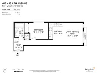 """Photo 2: 415 85 EIGHTH Avenue in New Westminster: GlenBrooke North Condo for sale in """"Eight West"""" : MLS®# R2618084"""