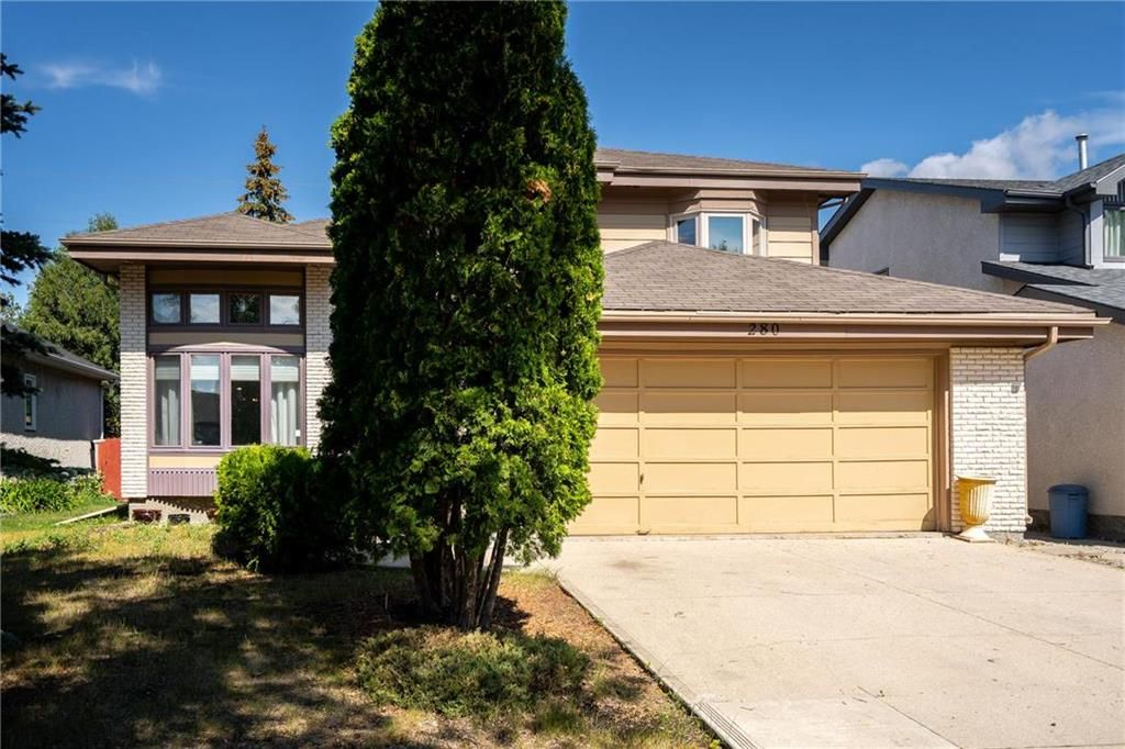 Main Photo: 280 Barlow Crescent in Winnipeg: River Park South Residential for sale (2F)  : MLS®# 202119947