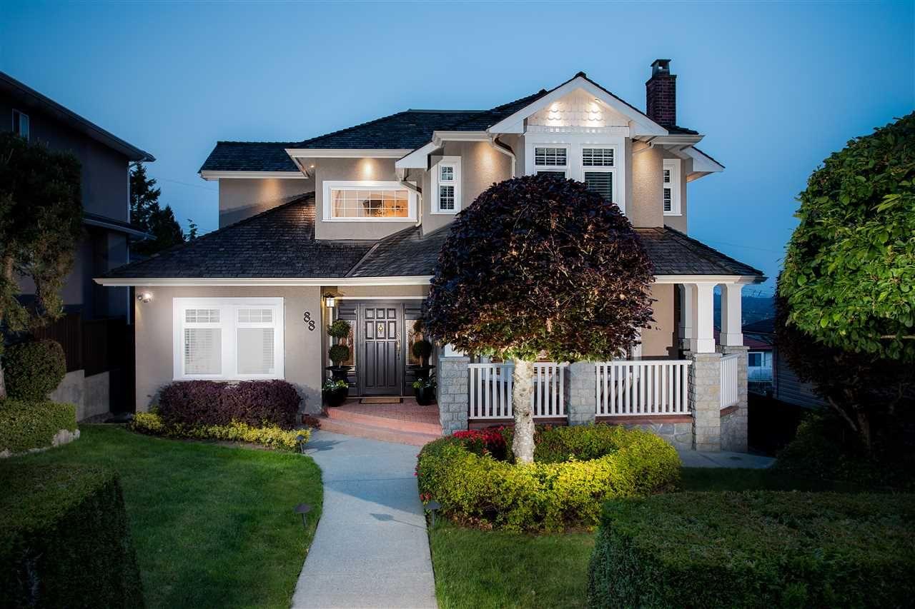 """Main Photo: 88 N HOWARD Avenue in Burnaby: Capitol Hill BN House for sale in """"CAPITOL HILL"""" (Burnaby North)  : MLS®# R2457656"""
