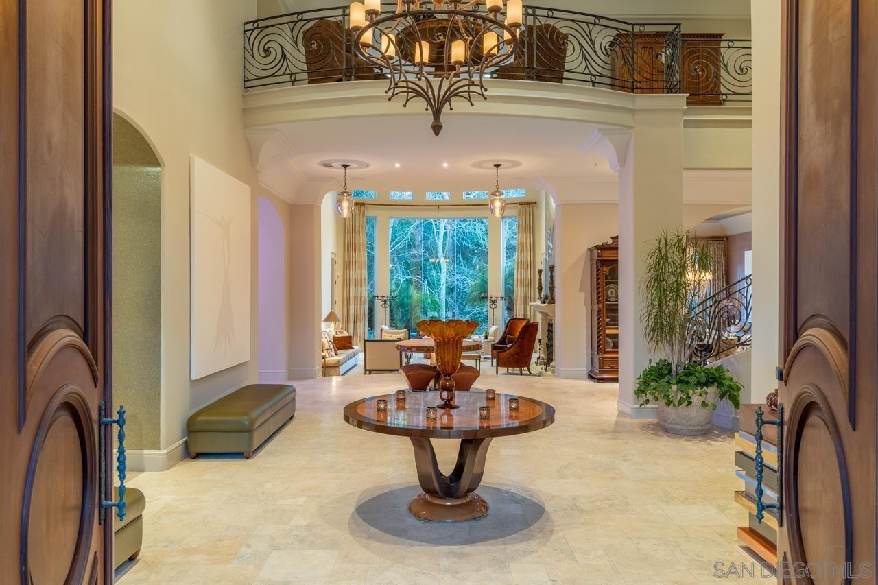 Main Photo: RANCHO SANTA FE House for sale : 7 bedrooms : 16711 Avenida Arroyo Pasajero