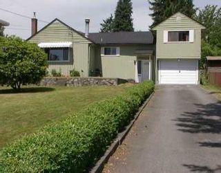 Photo 1: 941 STEWART AV in Coquitlam: Maillardville House for sale : MLS®# V600197