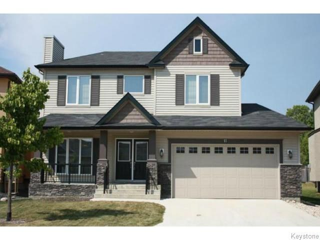 Main Photo: 15 Appletree Crescent in Winnipeg: Single Family Detached for sale (Bridgewater Forest)  : MLS®# 1420273