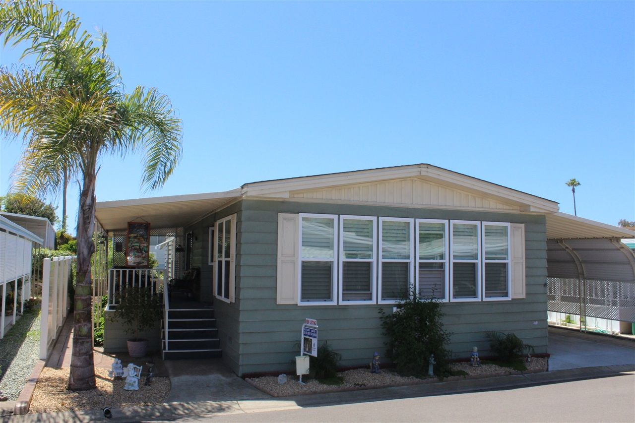 Main Photo: CARLSBAD SOUTH Manufactured Home for sale : 2 bedrooms : 7229 San Bartolo in Carlsbad