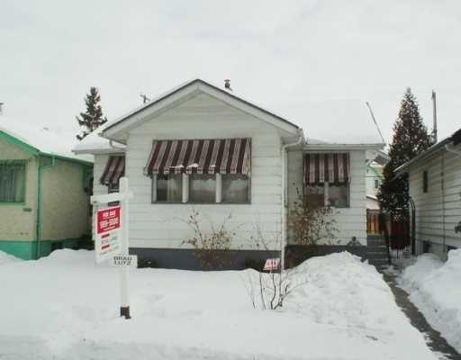 Main Photo: 1261 DOMINION Street in WINNIPEG: West End / Wolseley Single Family Detached for sale (West Winnipeg)  : MLS®# 2702107