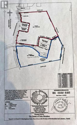 Photo 2: Parcel 2 Meetinghouse Road in Pouch Cove: Vacant Land for sale : MLS®# 1229626