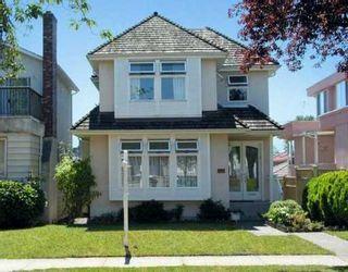 Photo 1: 128 W 47TH AV in Vancouver: Oakridge VW House for sale (Vancouver West)  : MLS®# V603244
