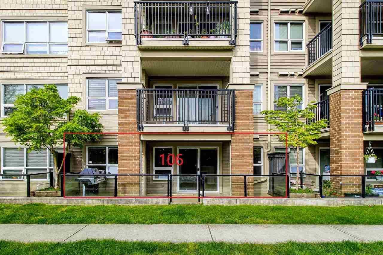"""Main Photo: 106 8600 PARK Road in Richmond: Brighouse Condo for sale in """"Saffron"""" : MLS®# R2573029"""