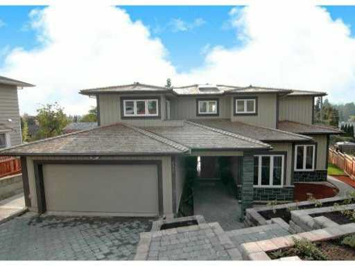 Main Photo: 4465 RUSKIN PLACE in NORTH VANCOUVER: Forest Hills NV House for sale (North Vancouver)  : MLS®# V1101451