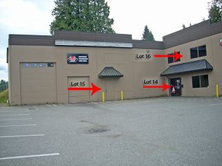 Photo 1: 14,15,16 34100 S Fraser Way: Commercial for sale in Abbotsford: MLS®#