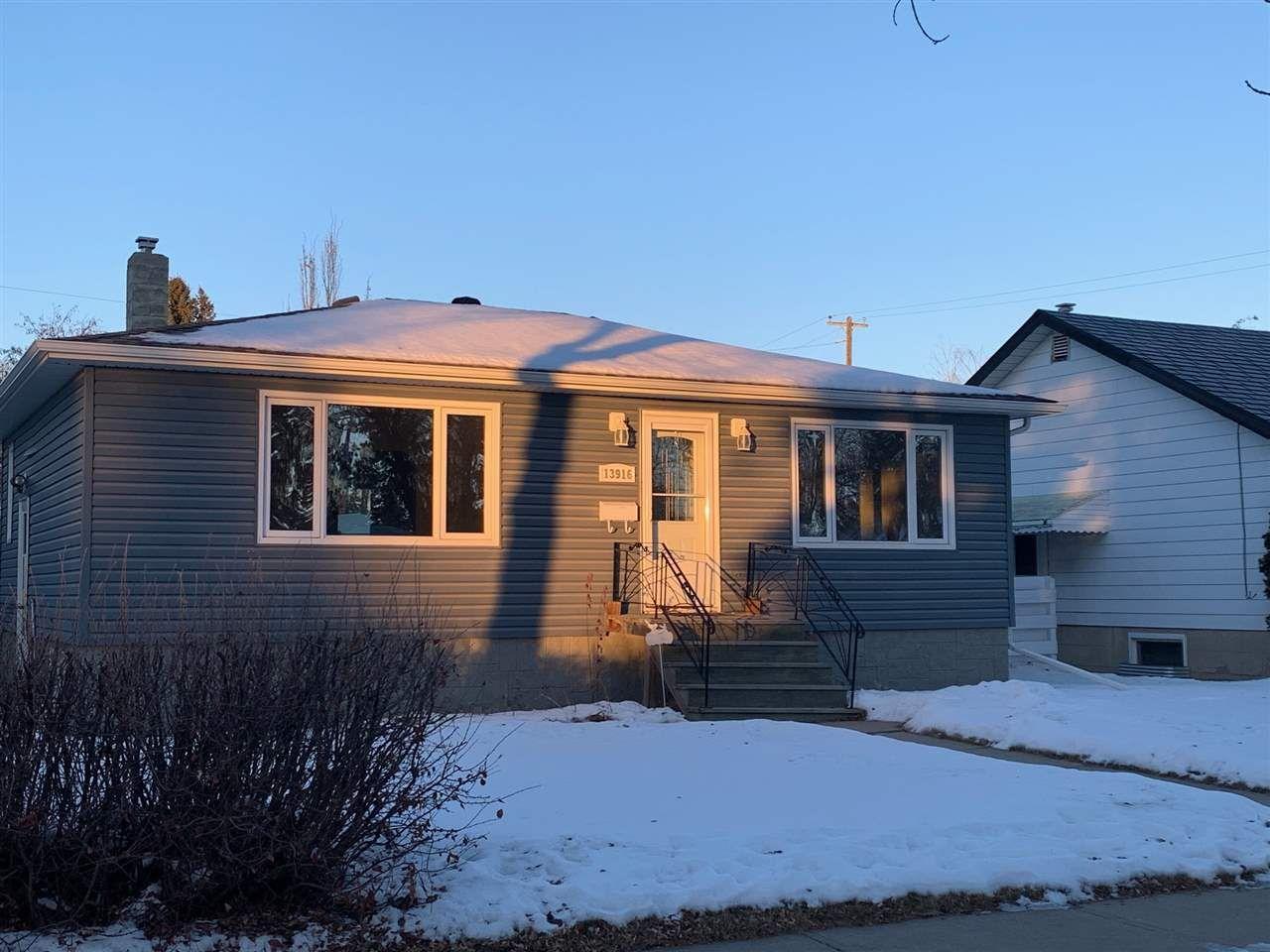 Main Photo: 13916 109 Avenue in Edmonton: Zone 07 House for sale : MLS®# E4223120