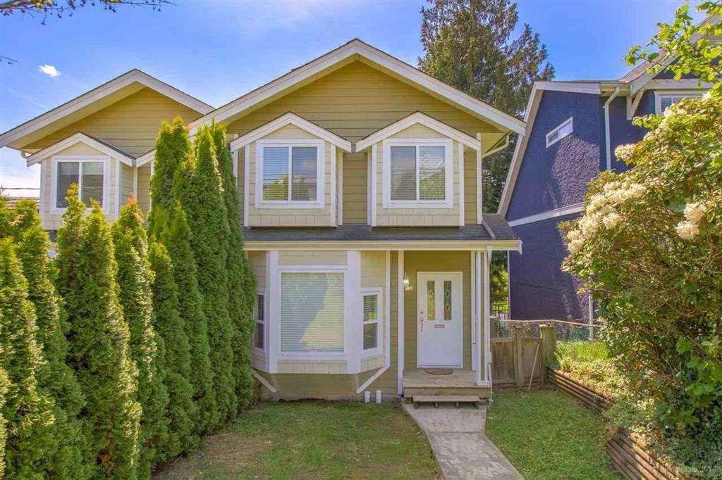 Main Photo: 1124 ROCHESTER Avenue in Coquitlam: Maillardville 1/2 Duplex for sale : MLS®# R2389917