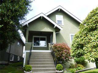 Photo 1: 3475 ADANAC Street in Vancouver: Renfrew VE House for sale (Vancouver East)  : MLS®# V1066128