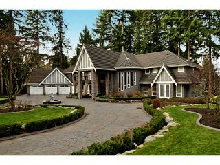 """Photo 1: 12855 CRESCENT Road in Surrey: Elgin Chantrell House for sale in """"Crescent Beach / Ocean Park"""" (South Surrey White Rock)  : MLS®# F1413765"""