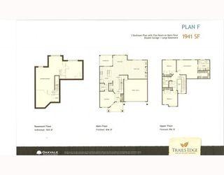 """Photo 5: 64 24185 106B Avenue in Maple_Ridge: Albion 1/2 Duplex for sale in """"TRAILS EDGE"""" (Maple Ridge)  : MLS®# V784832"""
