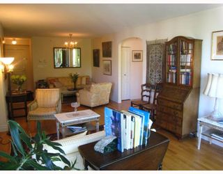 """Photo 3: 601 5775 HAMPTON Place in Vancouver: University VW Condo for sale in """"THE CHATHAM"""" (Vancouver West)  : MLS®# V709562"""