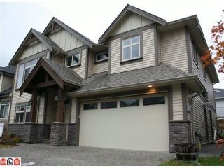 Photo 1: 4 3086 EASTVIEW Street in Abbotsford: Central Abbotsford House for sale : MLS®# F1300650