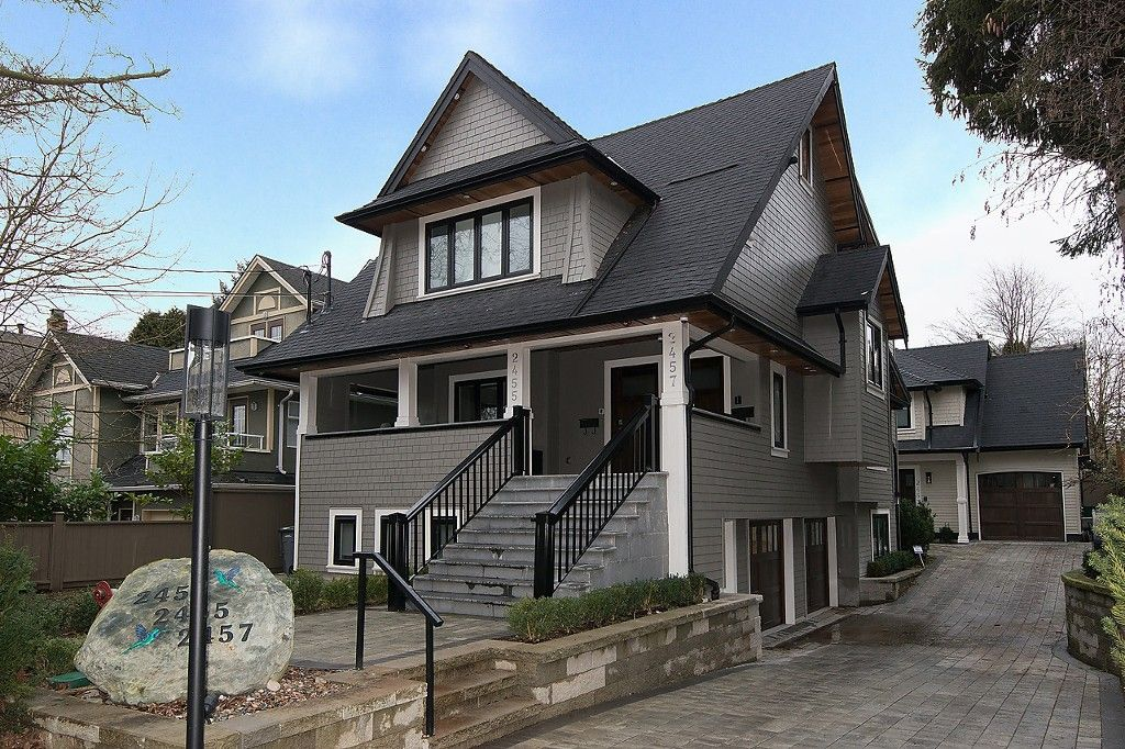 "Main Photo: 2457 W 7TH Avenue in Vancouver: Kitsilano 1/2 Duplex for sale in ""The Ghalley"" (Vancouver West)  : MLS®# R2026979"