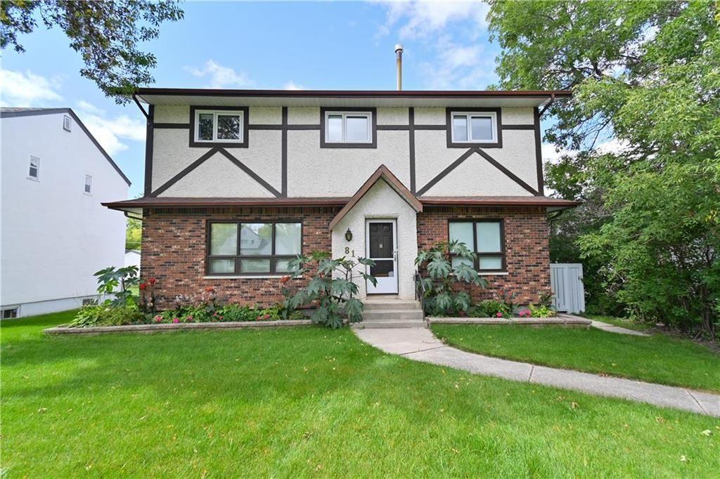 Main Photo: 81 Lawndale Avenue in Winnipeg: Norwood Flats Residential for sale (2B)  : MLS®# 202122518