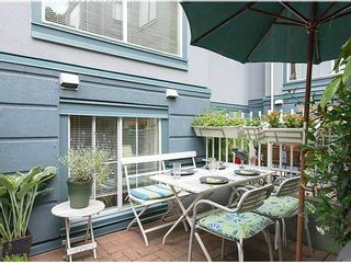 """Photo 3: # 6 877 W 7TH AV in Vancouver: Fairview VW Townhouse for sale in """"EMERALD COURT"""" (Vancouver West)  : MLS®# V1028020"""