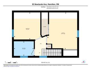 Photo 36: 93 Newlands Avenue in Hamilton: House for sale
