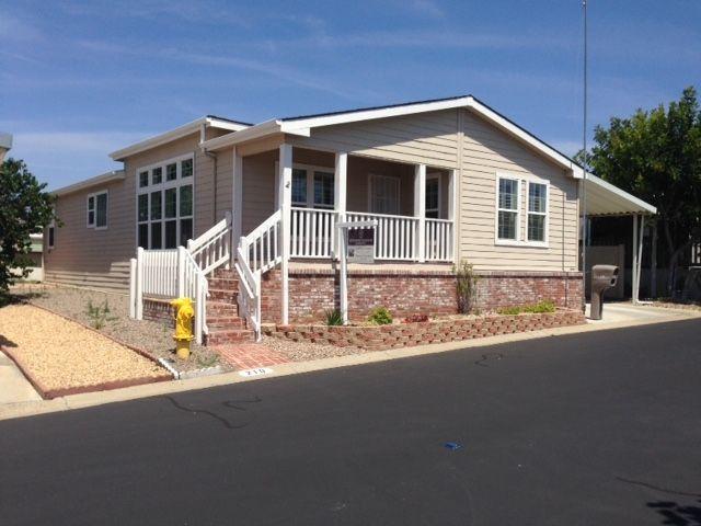 Main Photo: EAST ESCONDIDO Modular Home for sale : 3 bedrooms : 525 W El Norte Parkway #210 in Escondido
