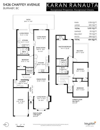 Photo 26: 5426 CHAFFEY Avenue in Burnaby: Central Park BS 1/2 Duplex for sale (Burnaby South)  : MLS®# R2578061
