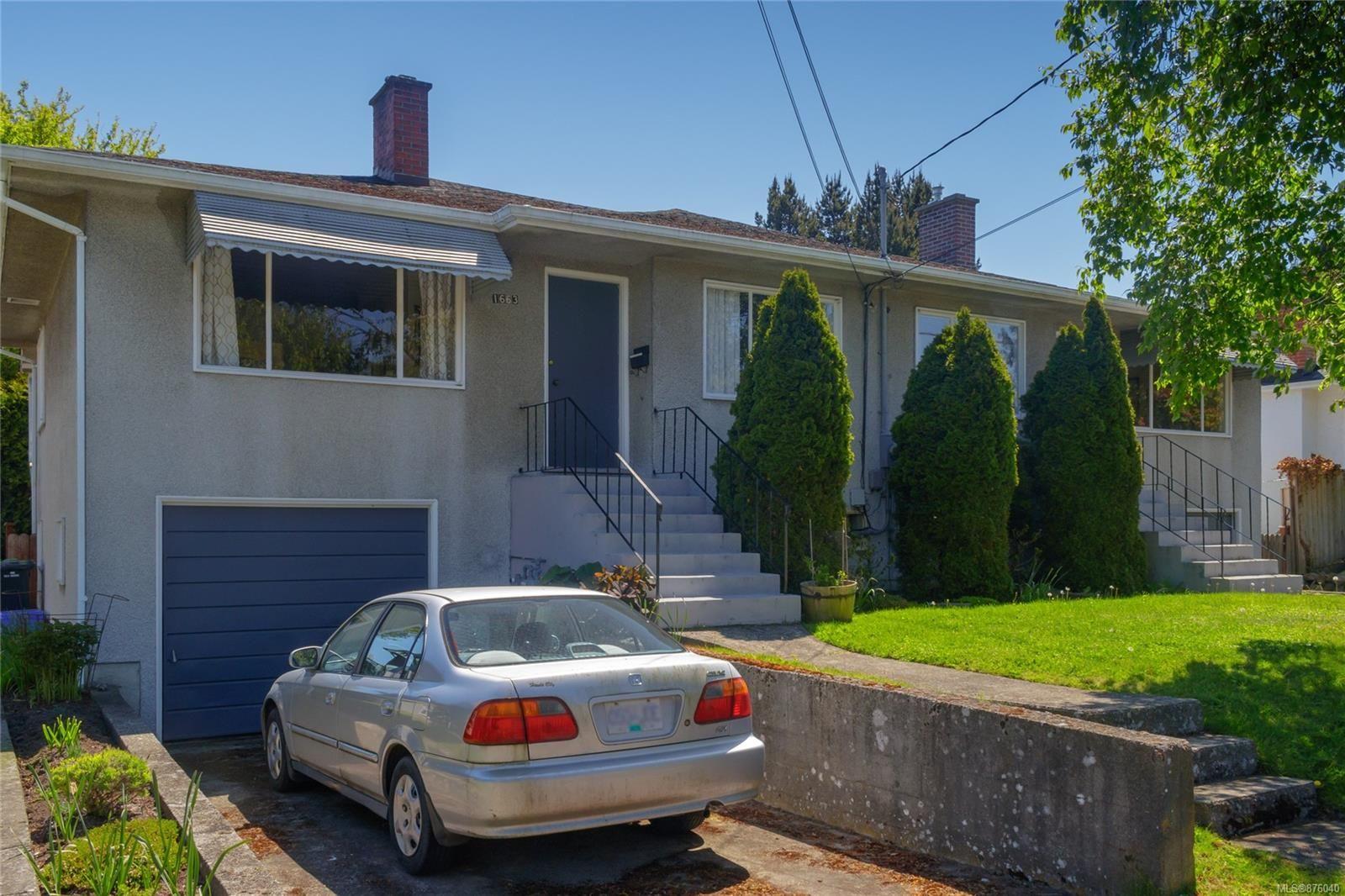 Main Photo: 1661/1663 Richardson St in : Vi Fairfield West Full Duplex for sale (Victoria)  : MLS®# 876040