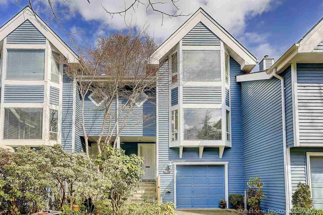 """Main Photo: 3344 FLAGSTAFF Place in Vancouver: Champlain Heights Townhouse for sale in """"COMPASS POINT"""" (Vancouver East)  : MLS®# R2252960"""