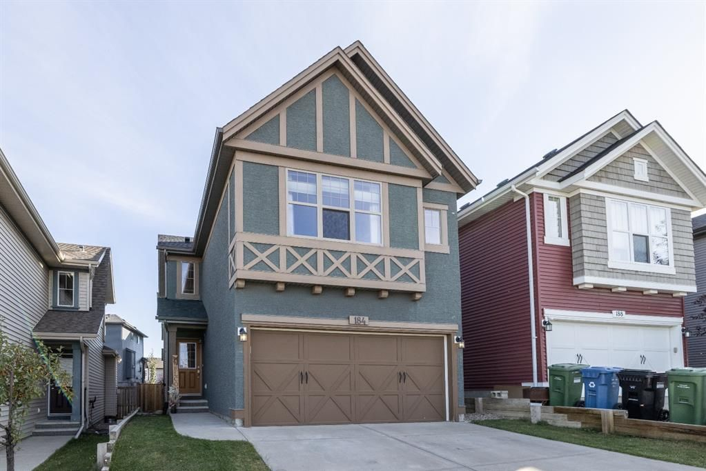 Main Photo: 184 Sage Valley Drive NW in Calgary: Sage Hill Detached for sale : MLS®# A1149247
