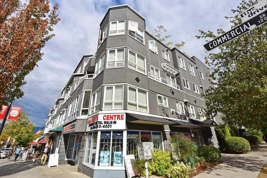 Main Photo: 204 1707 CHARLES Street in Vancouver: Grandview VE Condo for sale (Vancouver East)  : MLS®# R2209224