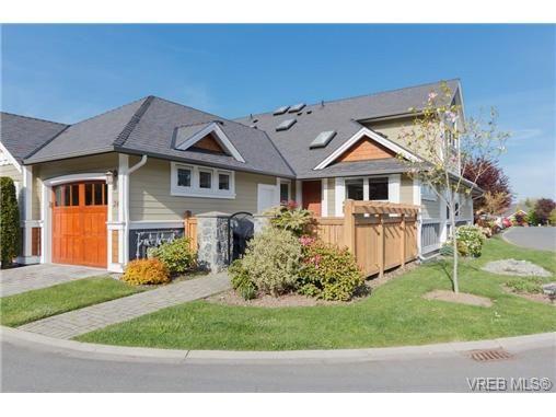 Main Photo: 24 10520 McDonald Park Rd in NORTH SAANICH: NS Sandown Row/Townhouse for sale (North Saanich)  : MLS®# 669691