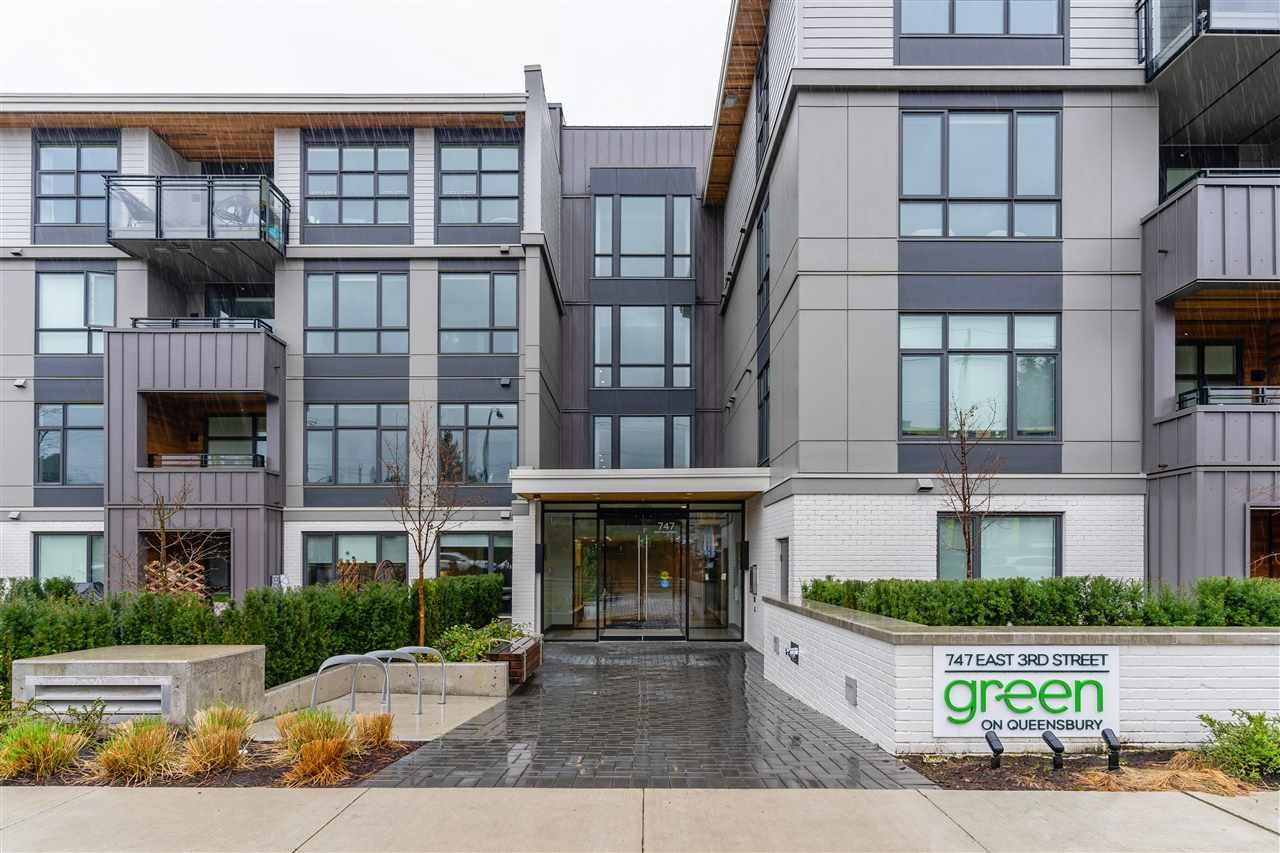 """Main Photo: 314 747 E 3RD Street in North Vancouver: Queensbury Condo for sale in """"GREEN ON QUEENSBURY"""" : MLS®# R2561322"""
