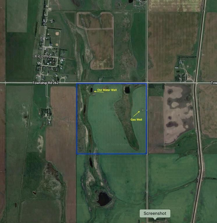 Main Photo: 4;27;26;12;NE in Rural Rocky View County: Rural Rocky View MD Land for sale : MLS®# A1108735