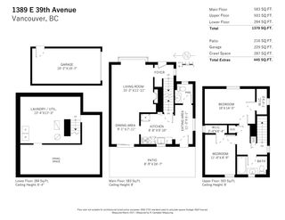 Photo 15: 1389 E 39TH Avenue in Vancouver: Knight House for sale (Vancouver East)  : MLS®# R2554919