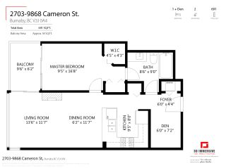"""Photo 27: 2703 9868 CAMERON Street in Burnaby: Sullivan Heights Condo for sale in """"SILHOUETTE"""" (Burnaby North)  : MLS®# R2477107"""