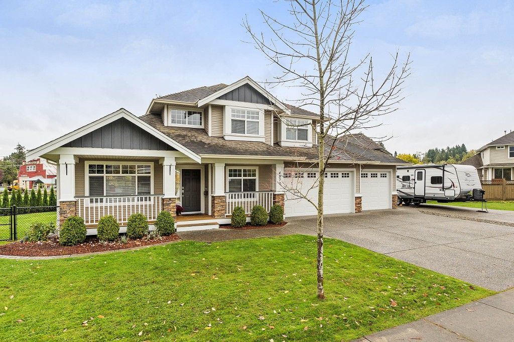 """Main Photo: 4870 214A Street in Langley: Murrayville House for sale in """"MURRAYVILLE"""" : MLS®# R2215850"""
