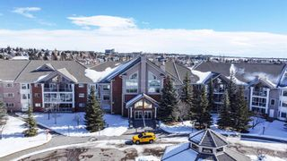 Photo 1: 334 6868 Sierra Morena Boulevard SW in Calgary: Signal Hill Apartment for sale : MLS®# A1072773