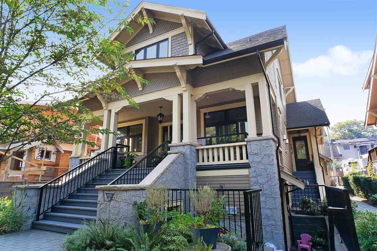 """Main Photo: 1836 W 12TH Avenue in Vancouver: Kitsilano Townhouse for sale in """"THE FOX HOUSE"""" (Vancouver West)  : MLS®# R2532068"""