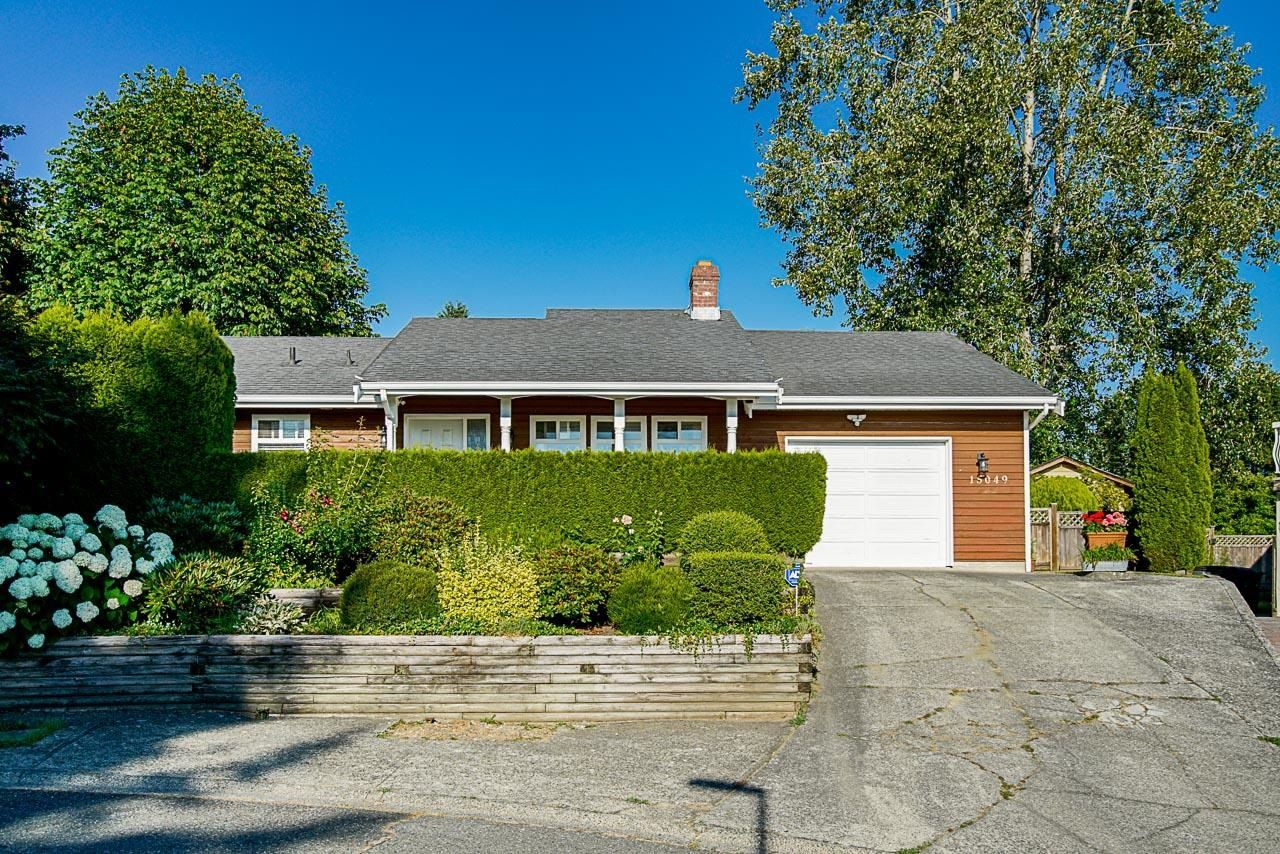 Main Photo: 15049 SPENSER Drive in Surrey: Bear Creek Green Timbers House for sale : MLS®# R2622598
