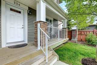 Photo 3: 224 CRANBERRY Park SE in Calgary: Cranston Row/Townhouse for sale : MLS®# C4299490