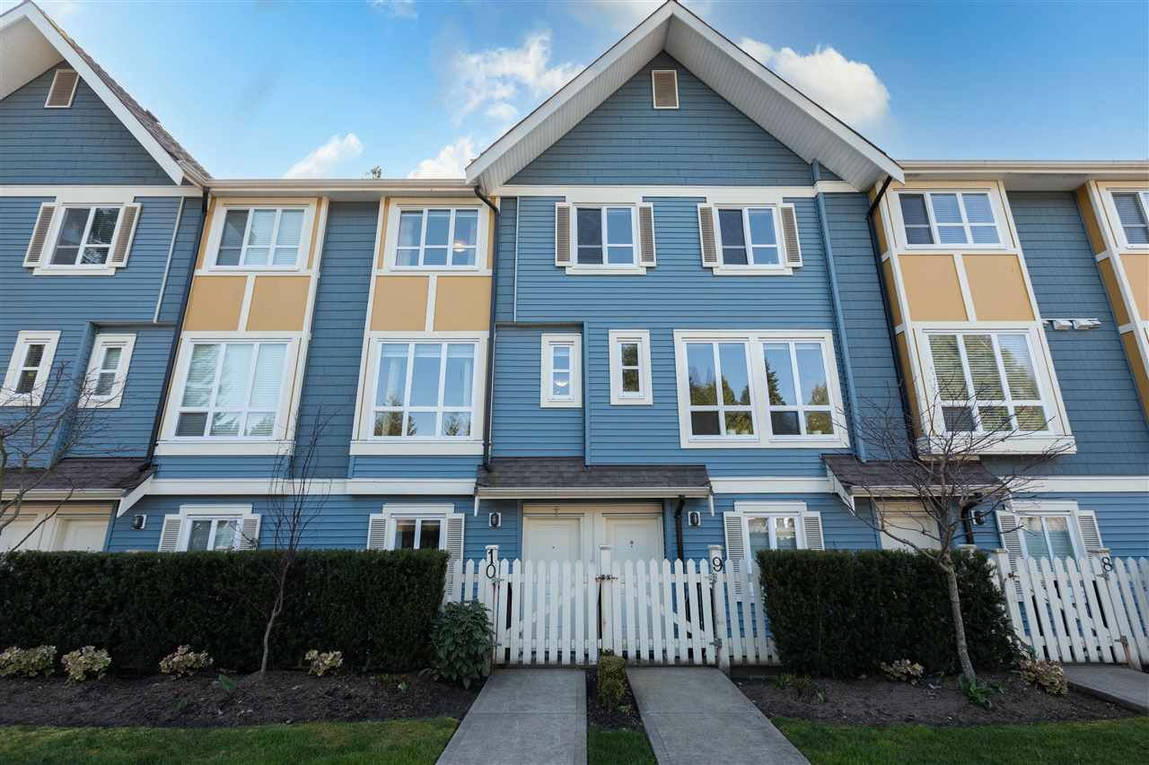 """Main Photo: 10 14388 103 Avenue in Surrey: Whalley Townhouse for sale in """"THE VIRTUE"""" (North Surrey)  : MLS®# R2561815"""