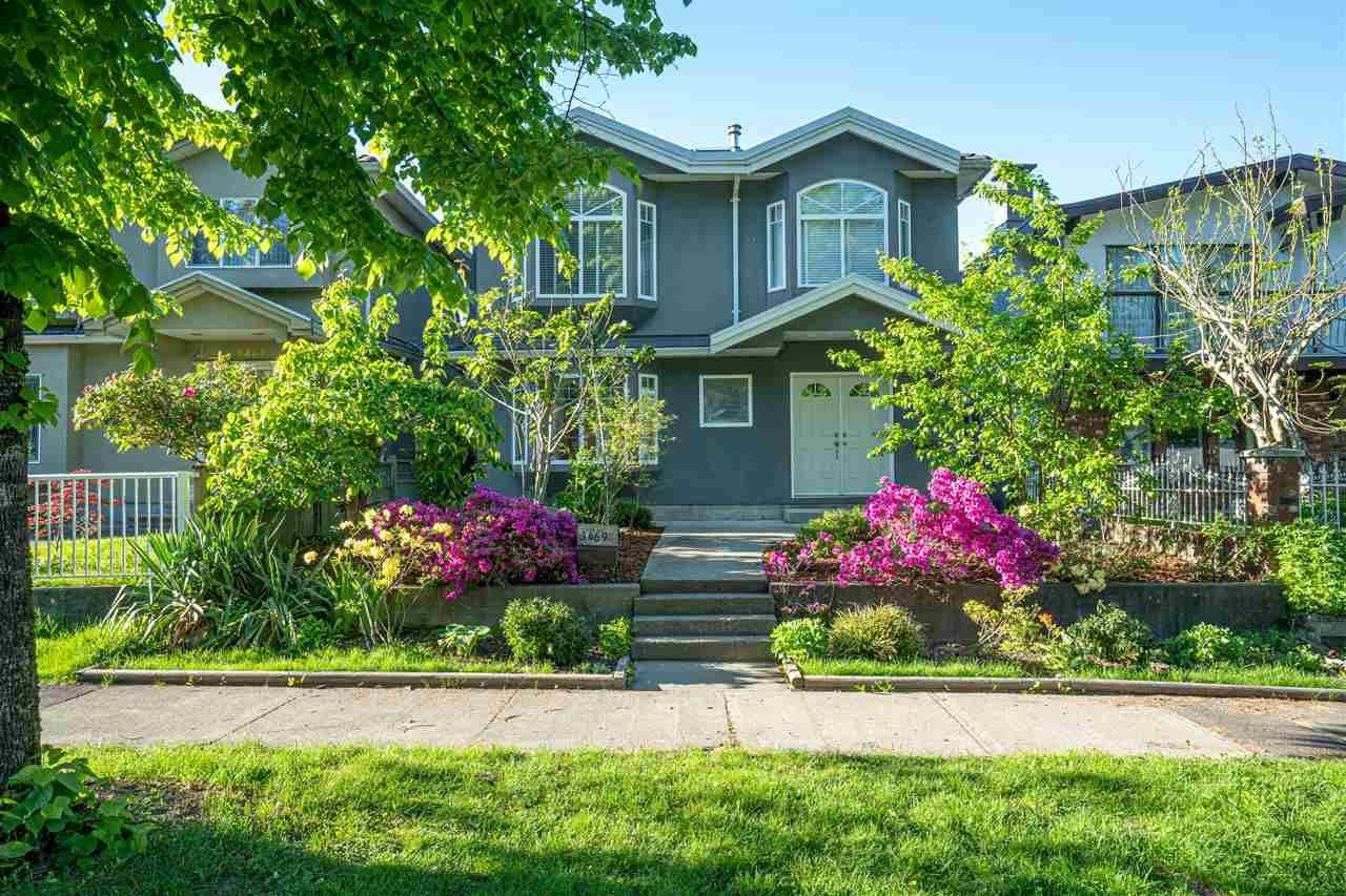 Main Photo: 3469 WILLIAM STREET in Vancouver: Renfrew VE House for sale (Vancouver East)  : MLS®# R2582317