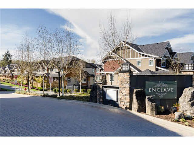 """Main Photo: 34 2979 156TH Street in Surrey: Grandview Surrey Townhouse for sale in """"ENCLAVE"""" (South Surrey White Rock)  : MLS®# F1437051"""
